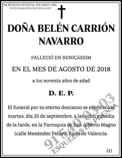 Belén Carrión Navarro